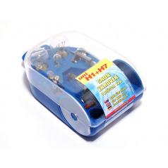 Žiarovky náhradné servisné box univerzálny H7 + H1