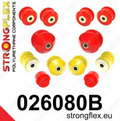 Škoda Superb StrongFlex sestava silentbloků jen pro přední nápravu 12 ks