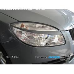 Škoda Fabia II - mračítka předních světel - pro lak