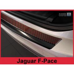 Carbon kryt- ochrana prahu zadního nárazníku Jaguar F-Pace 2016+