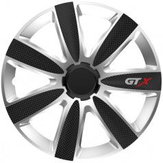 """Kryty kol GTX CARBON black/silver 14-16"""" (po 1 ks)"""