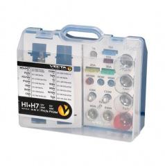 Box žárovek MEGA UNI 12V/H7+H1