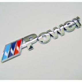 Znak BMW M POWER samolepící