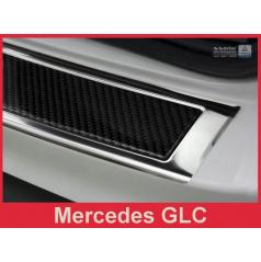 Carbon kryt- ochrana prahu zadního nárazníku Mercedes GLC 2015+