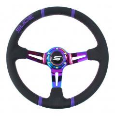 Sportovní volant WRC TITAN 350 mm kožený