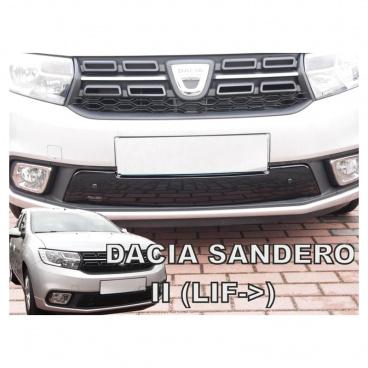 Zimní clona - kryt chladiče dolní - Dacia Sandero II, po faceliftu, 2017-