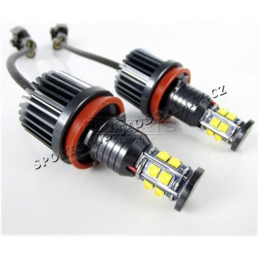 LED MARKER H8  ŽÁROVKY ANGEL EYES BMW 120W 12 LED CREE