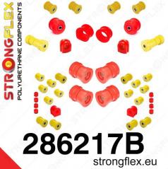 Nissan Skyline R34 StrongFlex kompletní sestava silentbloků 38 ks