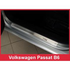 Nerez ochranné lišty prahu dveří 4ks Speciální edice Volkswagen Passat B6 2005-10
