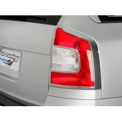 Rámeček zadních světel combi - chrom Škoda Octavia II