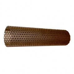 Perforovaná ocelová trubka pro stavbu výfuku - průměr 45 mm