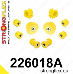 VW Bora StrongFlex Sport sestava silentbloků jen pro přední nápravu 10 ks