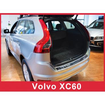 Nerez kryt- ochrana prahu zadního nárazníku Volvo XC60 2013-17