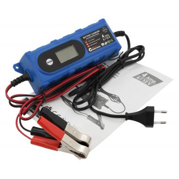 Nabíječka 3,8Amp 6/12V mikroprocesor PB/GEL LCD display
