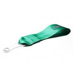 Tažné oko  textilní TAKATA - zelené, černé
