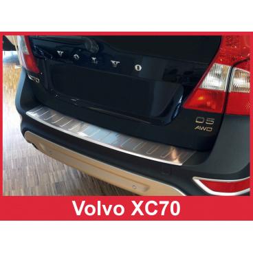 Nerez kryt- ochrana prahu zadního nárazníku Volvo XC70 2007-13