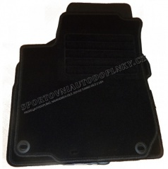 Textilní autokoberce velurové šité na míru, VW Golf VII, 2012-