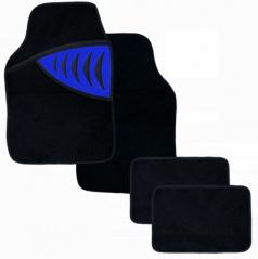 Autokoberce textilní - Shark - univerzální modré