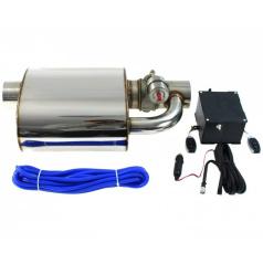 Sportovní výfuk Turboworks s nastavitelnou zvukovou klapkou 79 mm