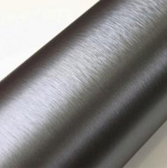 Nalepovací 3D folie broušená stříbrná tmavá 50x60 cm