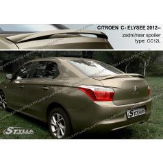 Citroen C Elysee sedan 2012+ zadný spoiler (EÚ homologácia)