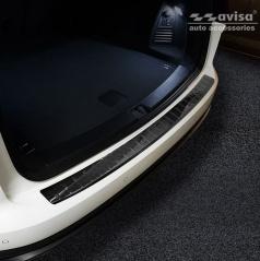 Karbon kryt - ochrana prahu zadního nárazníku Volkswagen Touareg III 2018+