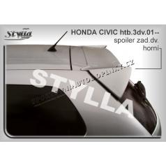 HONDA CIVIC 3D (01+) spoiler zad. dveří horní
