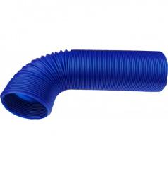 Plastové vzduchové vedení pro sportovní sání modré 77 mm