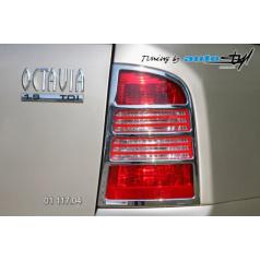 Rámeček zadních světel combi - chrom Škoda Octavia I