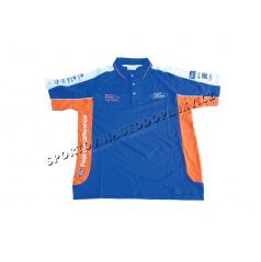 Oficiální Ford Rally Team - edice Marcus Gronholm - Týmová polo-košile WRC Modro/Oranžová - M