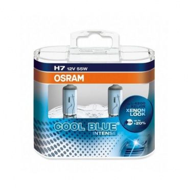 Žárovka Osram H7 12V 55W Cool Blue Intense - box 2ks