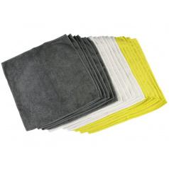 Utěrky z mikrovlákna 18 ks (čištění, sušení)