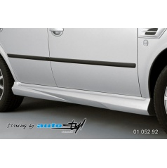 Škoda Octavia 2001 Nástavky prahů - pro lak*