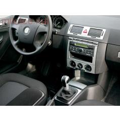 Dekor středového panelu bez zásuvky, ABS-stříbrný, Škoda Fabia