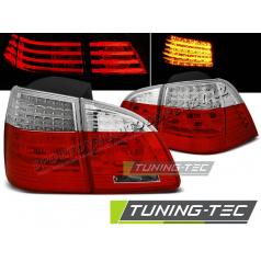 BMW E61 2004-03.2007 Touring zadní LED lampy red white (LDBME0)