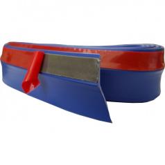 Univerzální spodní pružný  lip s podlepením modrý