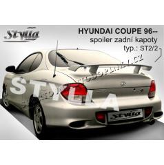 HYUNDAI COUPE 96+ spoiler zadní kapoty (EU homologace)