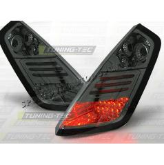 Fiat Grande Punto 2005-09 zadné LED lampy smoke (LDFI04)