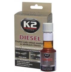 K2 Diesel - aditivum do paliva 50 ml