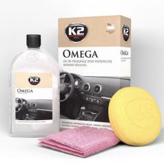 Oživovač plastů K2 500 ml + houbička a utěrka