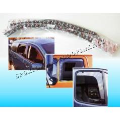 Fiat Seicento 3D (1997+) ofuky na okná předné