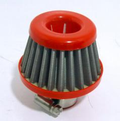Sportovní oddechový filtr Racing 25 mm vstup - kovová filtrace