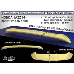 HONDA JAZZ (02+) spoiler zad. dveří horní