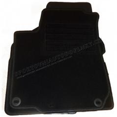 Textilní velurové autokoberce šité na míru - Nissan Note, 2006-
