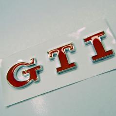 Znak GTI samolepící pro koncernové vozy VW