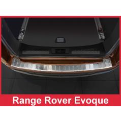 Nerez kryt-ochrana prahu zadního nárazníku Land Rover Evoque 2011+