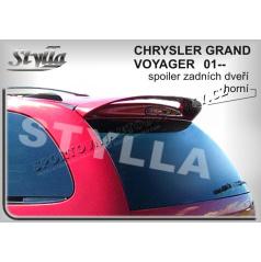 CHRYSLER GRAND VOYAGER 01+ spoiler zad. dveří horní