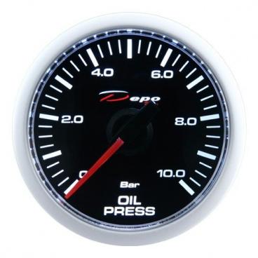 Přídavný budík Depo Racing Tlak oleje 52 mm