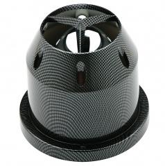 Sportovní vzduchový filtr s tepelným karbon štítem