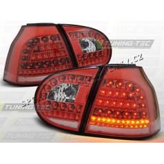 VW GOLF V 2003-09 ZADNÍ LED LAMPY RED WHITE (LDVW69)